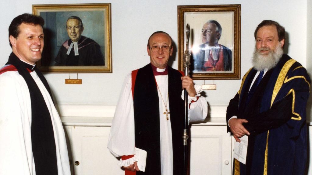 Richard Burridge is licensed as Dean in 1993