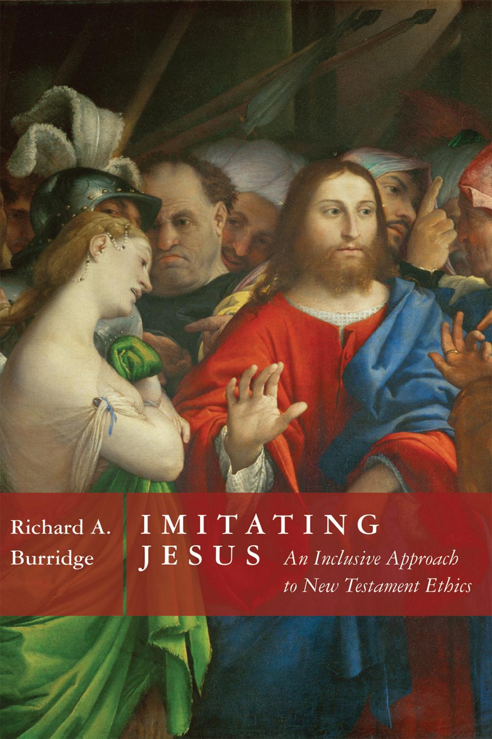 Imitating Jesus book cover